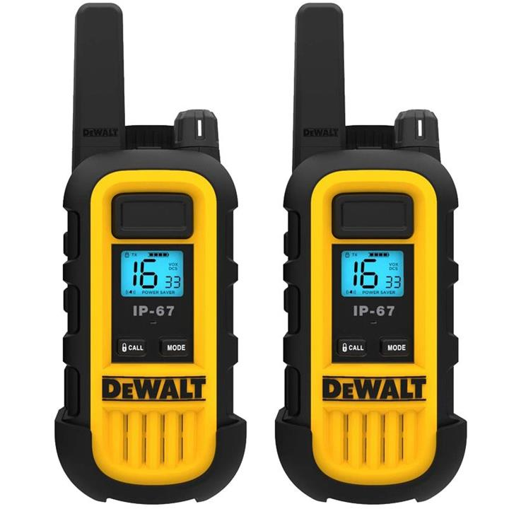 DXPMR-300 ΖΕΥΓΟΣ WALKIE-TALKIE DEWALT (HEAVY DUTY) – 8KM